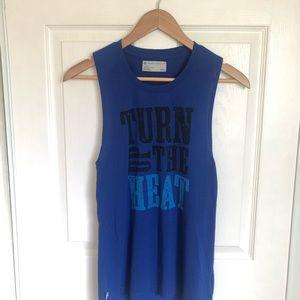 Beachbody Country Heat Blue Muscle Tank